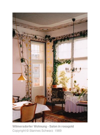 Wilmersdorfer Wohnung - Salon in rosagold - Ornamente ...